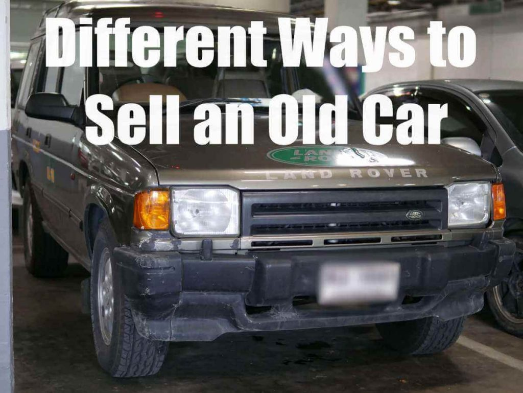 sell old car