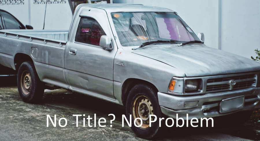 how to sell car without title