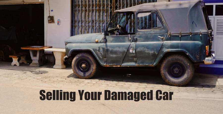 selling your damaged car