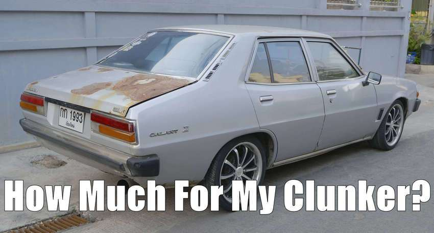 How much is a non running car worth